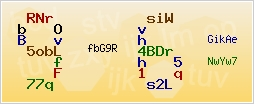 Captcha-изображение